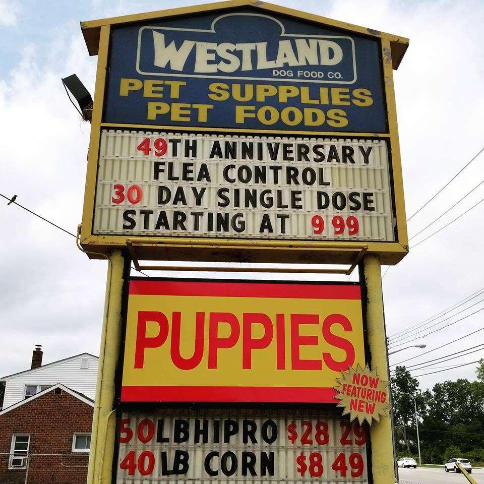 westland pet store